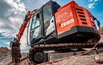 En Noruega sale al mercado la primera excavadora 100% eléctrica