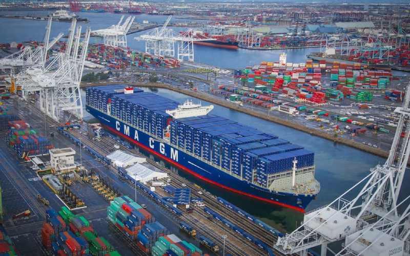 El puerto de Los Ángeles comienza con fuerza en 2021 - World Energy Trade
