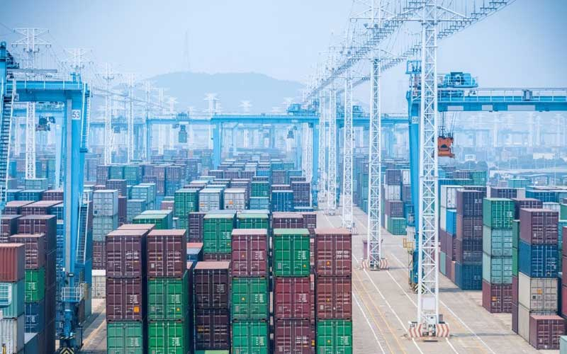 El puerto de Ningbo-Zhoushan se ha convertido en uno de los puertos más activos de China gracias al BRI
