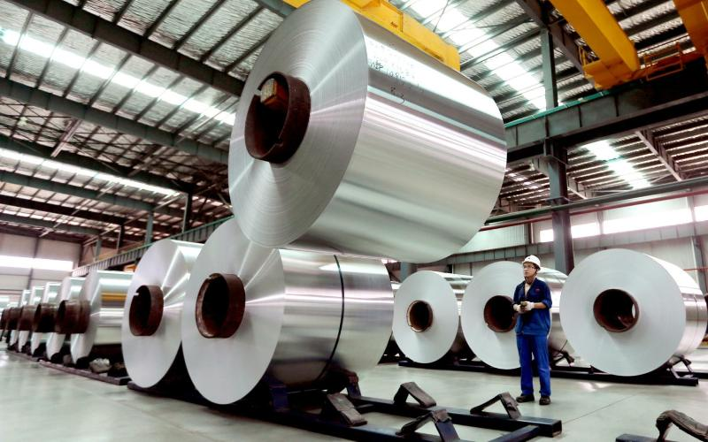China es el mayor productor de aluminio del mundo