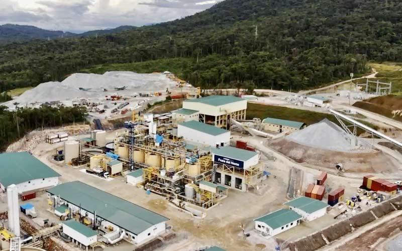 Mina de oro Fruta del Norte, considerada como uno de los proyectos de oro más grandes y de mayor grado del mundo.