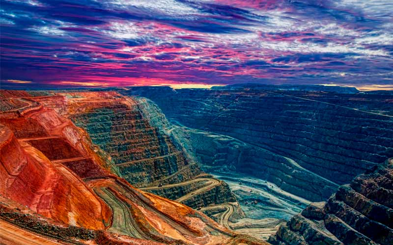 Mina Kalgoorlie Super Pit, Australia Occidental