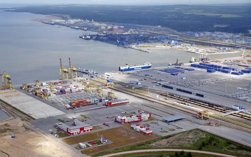Puerto de Ust-Luga. Foto de la empresa Ust-Luga.