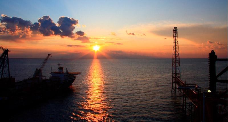 El horizonte del Golfo Pérsico en el yacimiento South Pars
