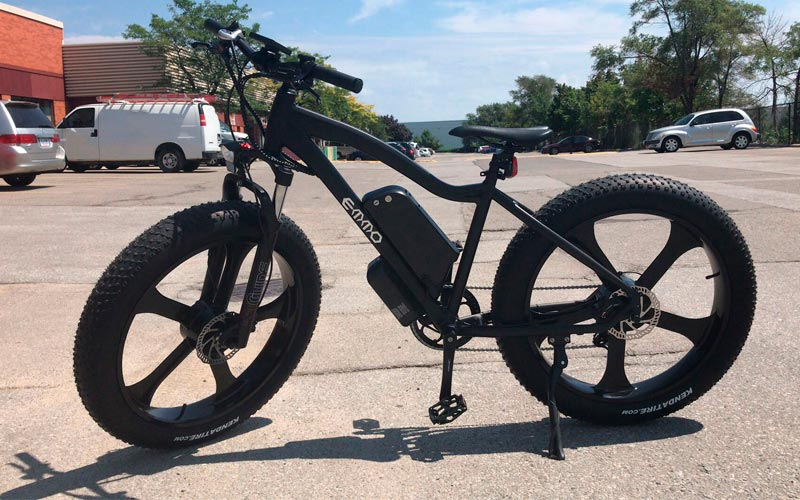 Fig. 4 .- Emmo Electric Bicycle E-Wild GTS